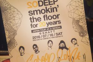 SO DEEP,20thtour,仙台