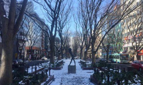 定禅寺通り 仙台 冬